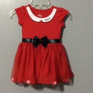 Disney Junior Minnie Mouse PomPom Costume Dress 2T
